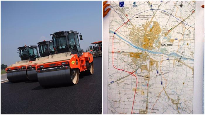 Pas important pentru construcția variantei ocolitoare a municipiului Satu Mare