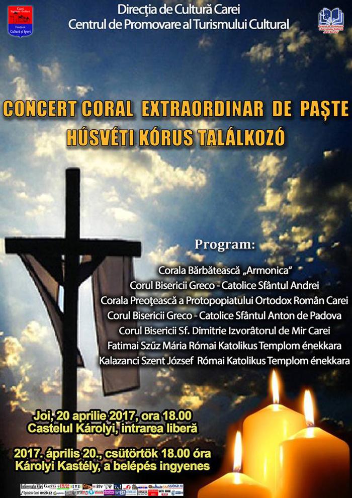 Concert de Paște la Carei
