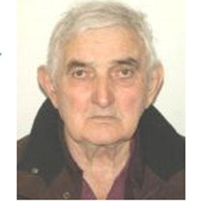 Bătrânul dat dispărut zilele trecute, a fost găsit. Bărbatul este teafăr