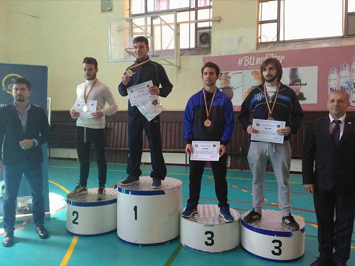 Un careian, pe podiumul Campionatului Național Universitar de Karate