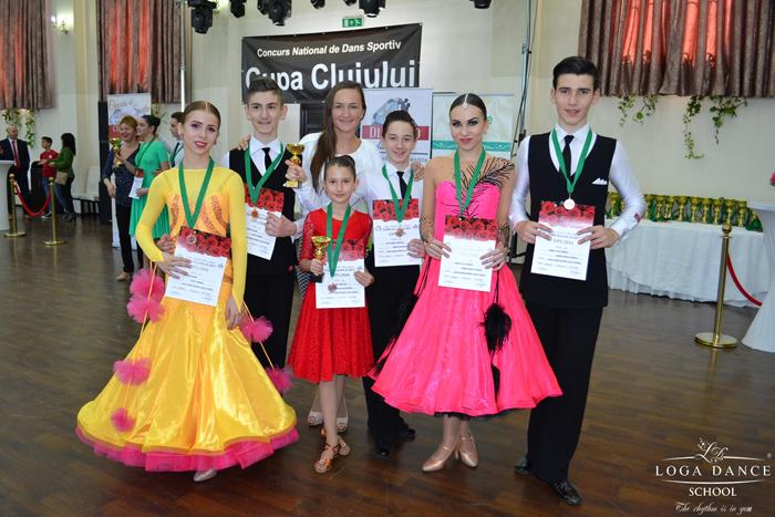 Șapte medalii pentru Loga Dance School la Cupa Clujului (Foto&video)