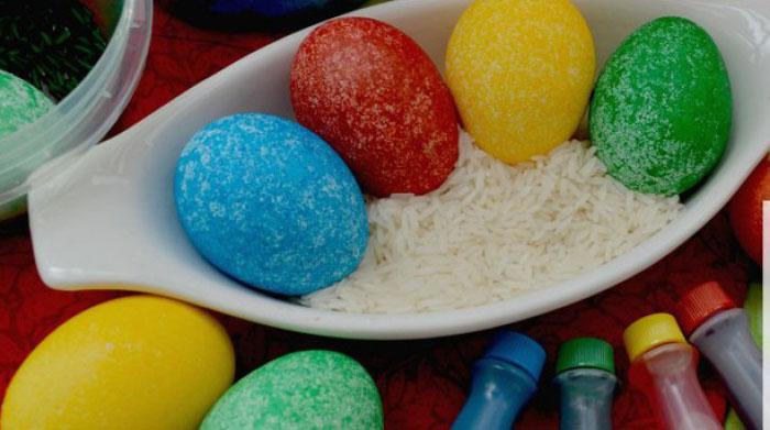 Cea mai simplă metodă de vopsire a ouălor