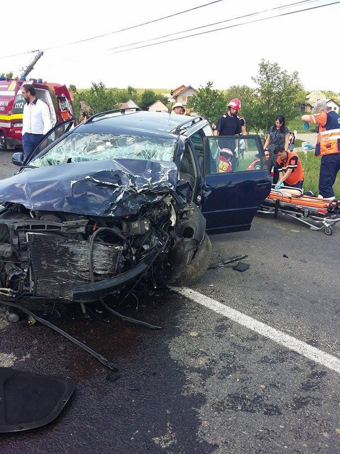 Imagini terifiante de la accidentul mortal de la Rătești (Galerie foto&video)