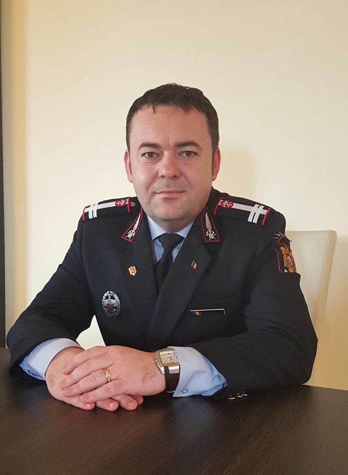 Lt. col. Aurel Ulici la ceas aniversar