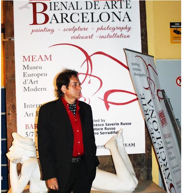 Un pictor sătmărean, premiat la Barcelona. Fiul lui Dali, în juriu