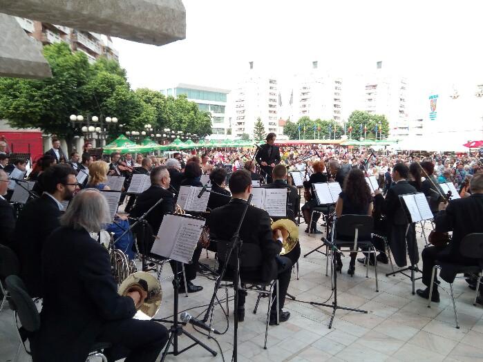 """Muzică clasică în deschiderea """"Zilelor Orașului Satu Mare"""" (Foto&video)"""