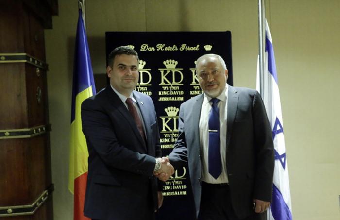 Gabriel Leș s-a întâlnit cu ministrul apărării din Statul Israel