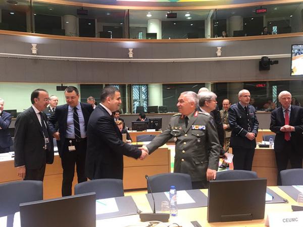 Ministrul Gabriel Leș, la reuniunea Consiliului Afaceri Externe de la Bruxelles (Foto)