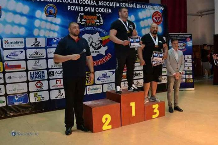 Dumitru Podac din Moișeni, campion național la skandenberg (Foto)