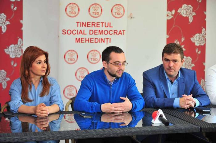 Tinerii social-democrați s-au reunit la Mehedinți. Deputatul Ioana Bran a participat la eveniment (Foto)