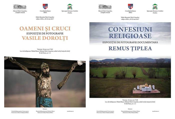 """Remus Țiplea își expune """"Confesiunile religioase"""" la Muzeul Țării Crișurilor"""