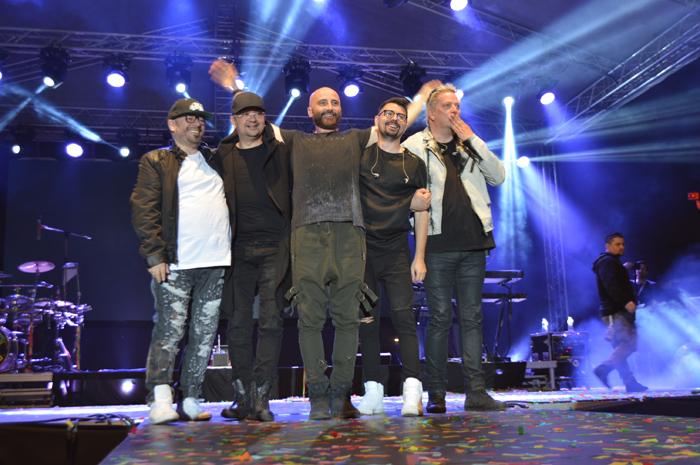 Super concert marca Voltaj, în miez de noapte, la Satu Mare (Foto&video)
