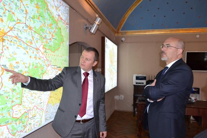 Ambasadorul Poloniei, în vizită la Satu Mare. Ce spune despre orașul nostru (Foto)