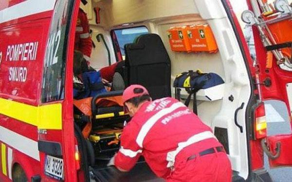 Accident provocat de un sofer beat