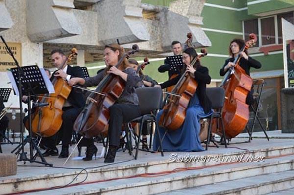 Concert simfonic in centrul Satmarului