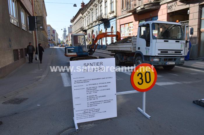 Drum închis în centrul orașului. Vezi motivul (Foto&video)