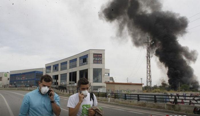 Explozie la o fabrică din Spania. O româncă rănită în urma deflagrației