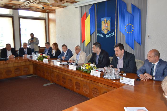 Ministrul Agriculturii, Petre Daea, la o întâlnire cu fermierii sătmăreni (Video)