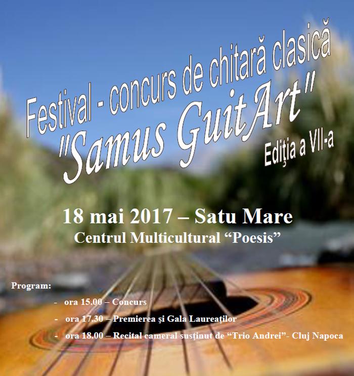 Cei mai buni chitariști din România vin la Satu Mare. Vezi unde