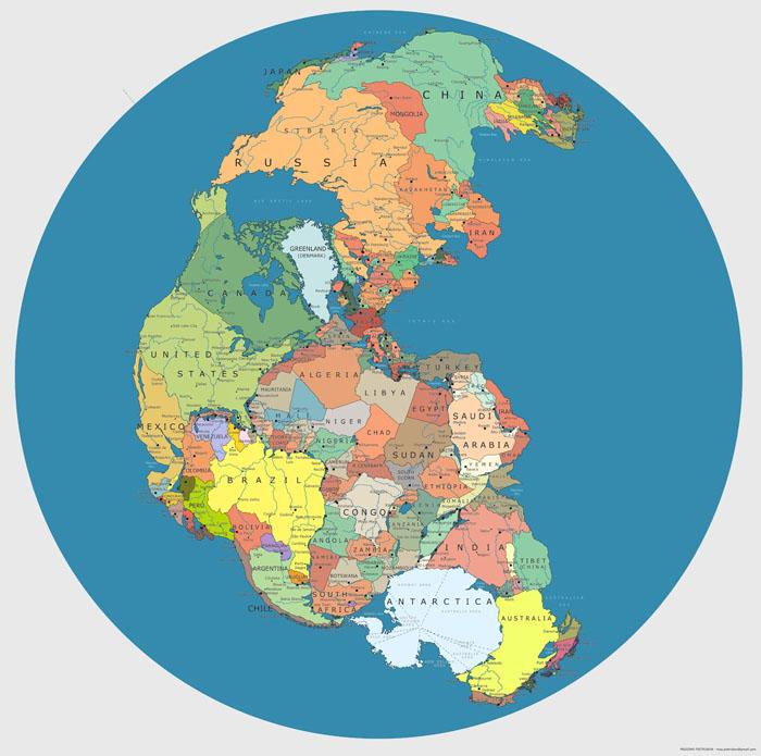 Studiu interesant. Cu cine s-ar fi învecinat România acum 300 de milioane de ani
