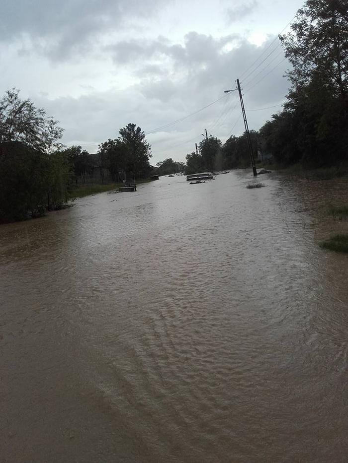 Inundații în Homoroade (Foto)