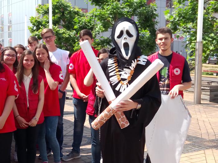 Marș antifumat la Satu Mare (Galerie foto)