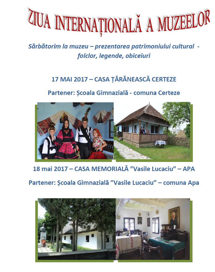 """""""Ziua Internațională a Muzeelor"""", marcată și la Satu Mare"""