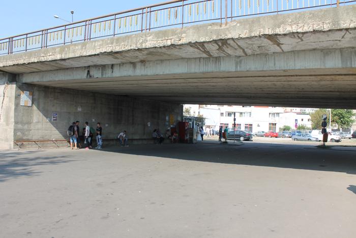Parcarea de sub Podul Decebal, închisă parțial. Ce spune Primăria