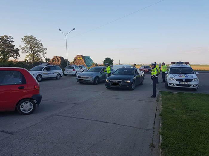 Poliția le-a dat, Poliția le-a luat ! Zece șoferi au ajuns pietoni