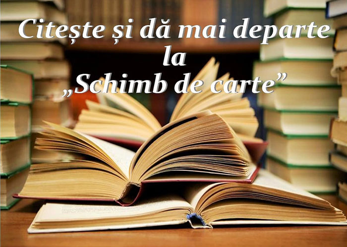 Citește și dă mai departe la schimb de carte