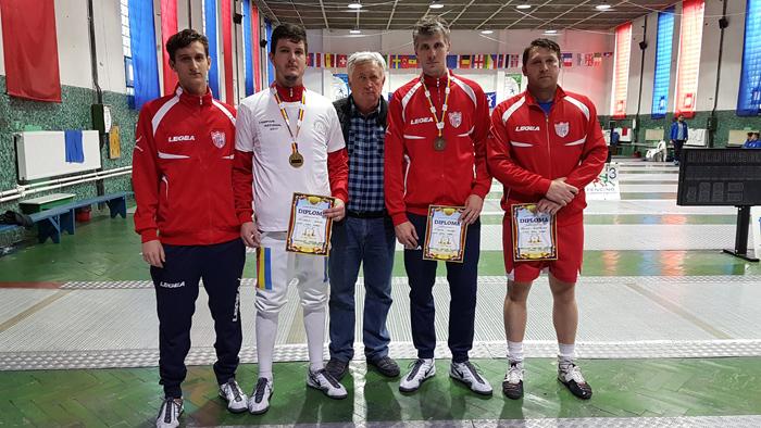 Sătmăreanul Adrian Szilagyi, campion național la spadă seniori