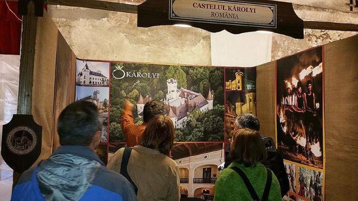 Castelul Károlyi, promovat la Târgului European al Castelelor
