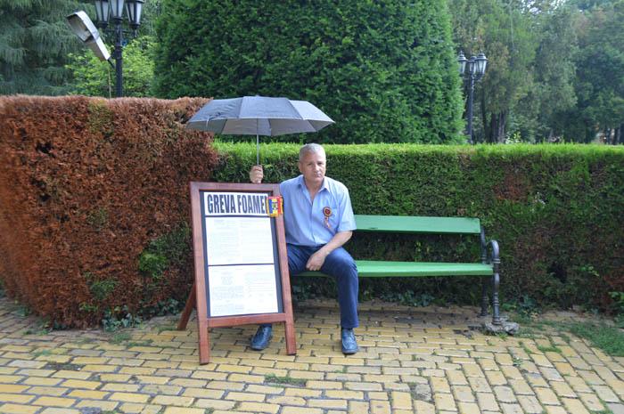 """Dan Burulea: """"Persoane beneficiare a protestului meu mă privesc ca pe un ciudat"""""""