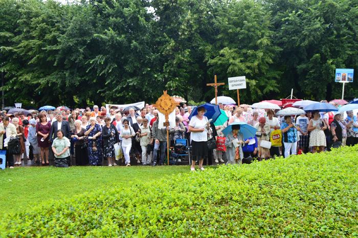 Mii de persoane la Hramul Diecezei Romano-Catolice Satu Mare (Galerie foto&video)