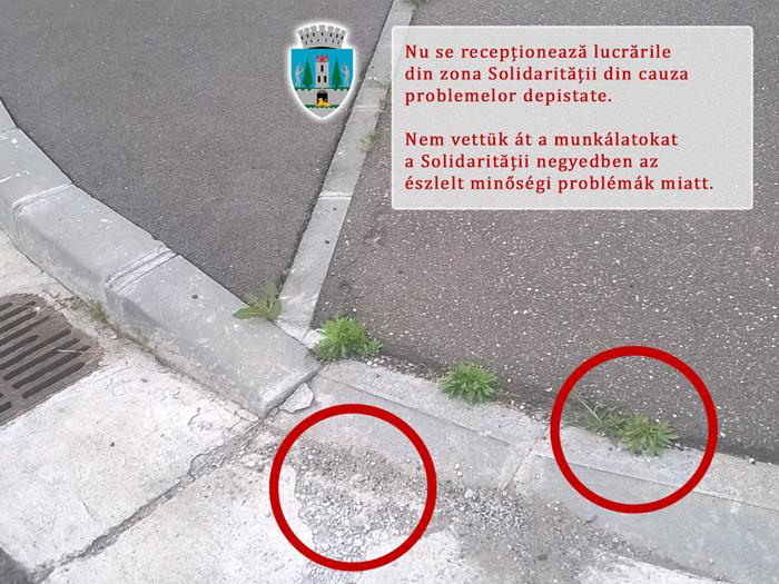 """Kereskenyi Gabor: """"În unele cazuri lucrările nu respectă standardele de calitate"""""""