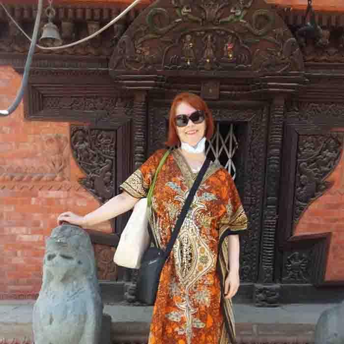 O sătmăreancă în Nepal. Ce face în celălalt capăt al lumii (Foto)