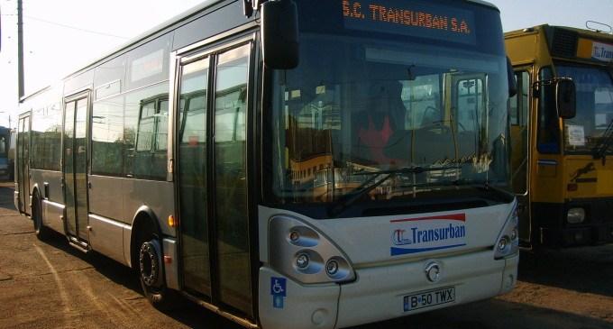 Transurban suspenda cursele de autobuze, pe mai multe linii