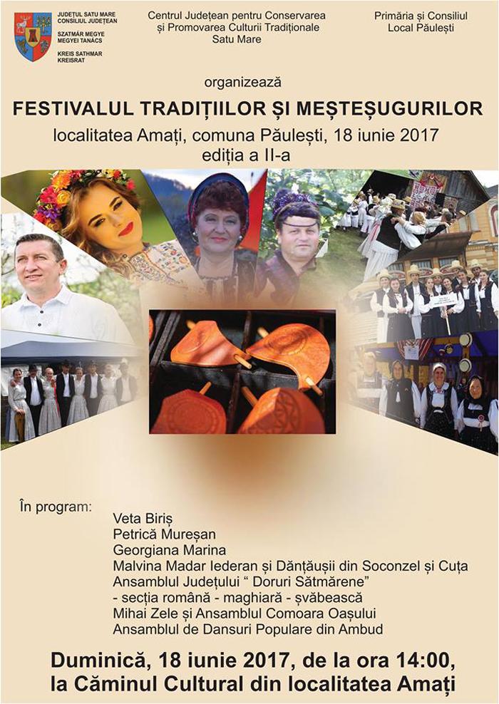 Festivalul Tradițiilor și Meșteșugurilor din localitatea Amați, la cea de-a II-a ediție