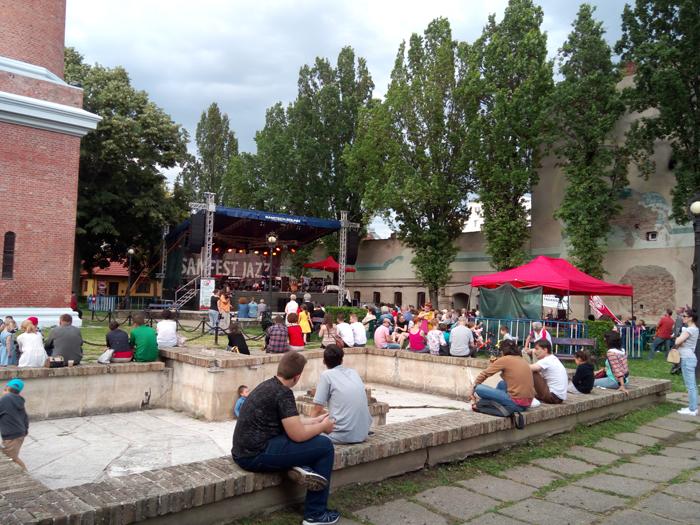 Trei trupe astăzi, pe scena Festivalului Samfest Jazz (foto&video)