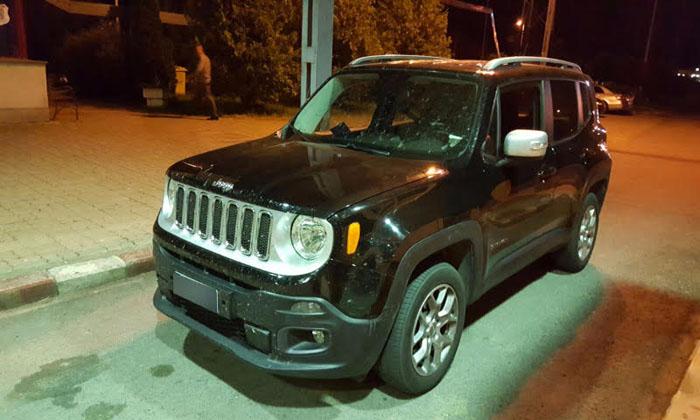 Un Jeep Renegade, căutat în Germania, descoperit la Petea