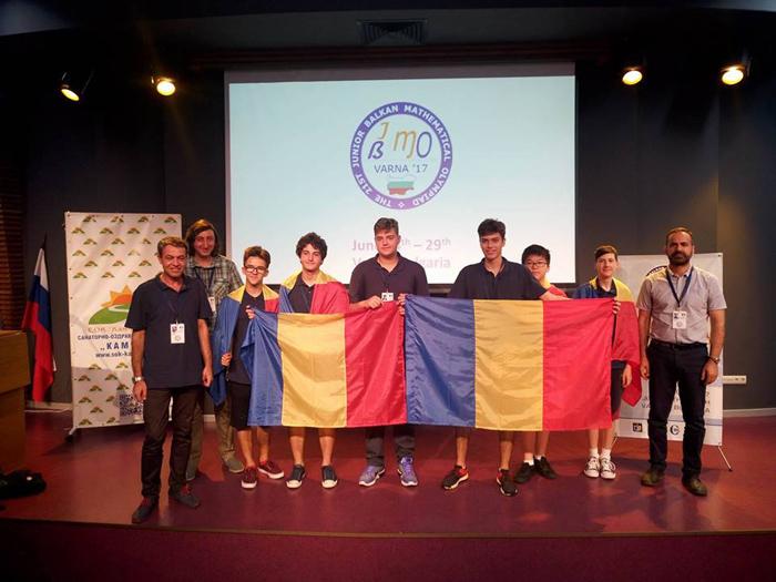 Şase medalii pentru olimpicii români la Balcaniada de Matematică pentru Juniori