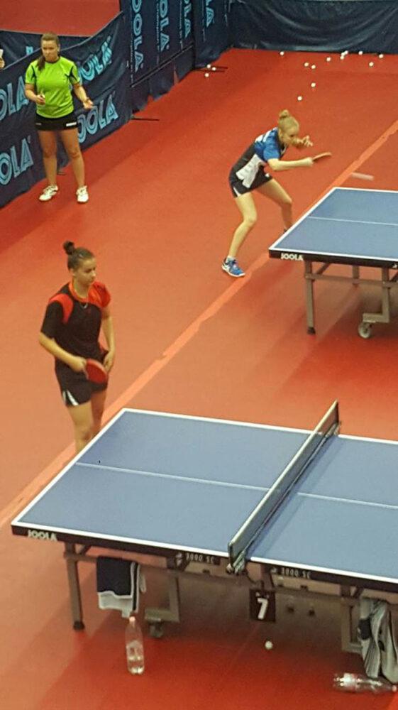 Tenis de masă: Două careience participă la Campionatul European