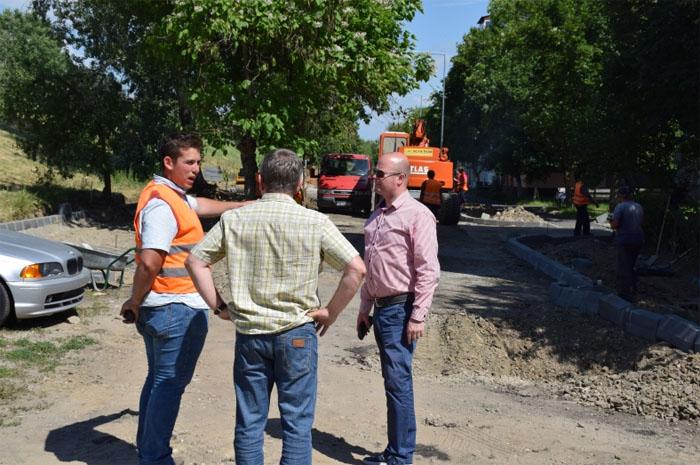Vizită inopinată pe șantierele din oraș. Ce spune primarul Kereskényi Gábor