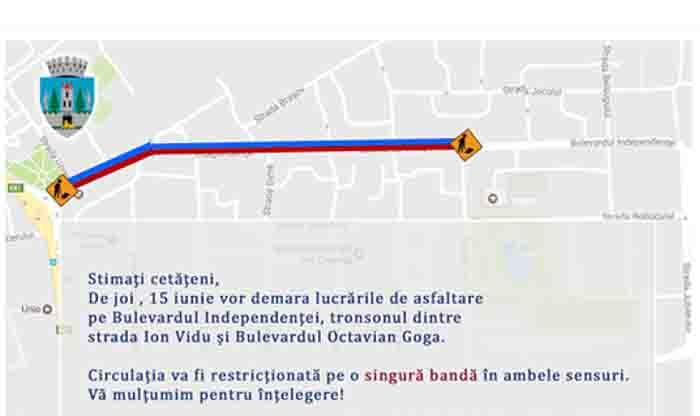 Restricții de circulație în Satu Mare. Vezi unde