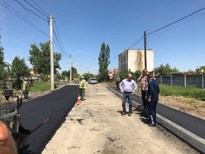 Strada Depozitelor, asfaltată (Foto)