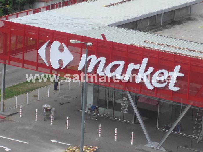 Ultimele pregătiri pentru inaugurarea Carrefour (Foto)
