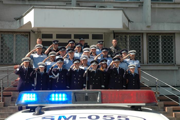Poliția în doliu ! Moment de reculegere la Satu Mare (Foto&video)
