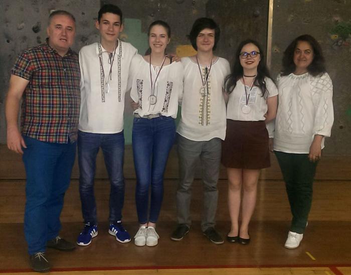 Patru medalii obținute de olimpicii români la Balcaniada de Geografie
