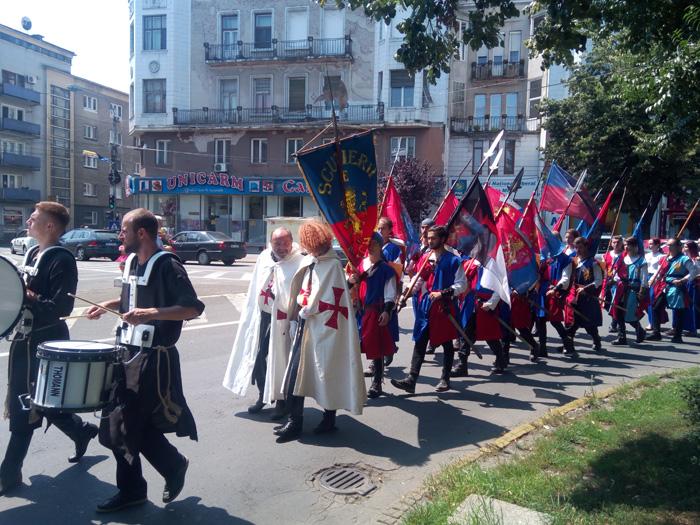 Parada cavalerilor în centrul Sătmarului (Galerie foto&video)
