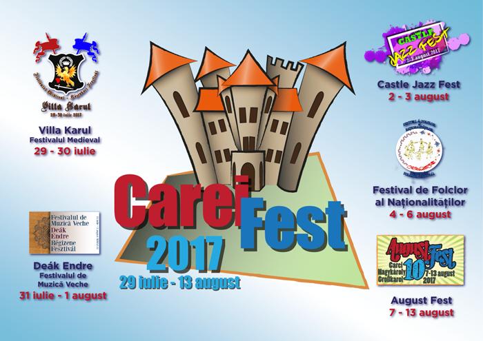 Carei Fest 2017. Vezi programul